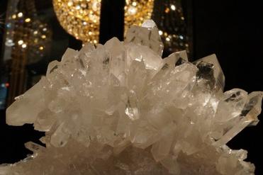 水晶クラスター (アーカンソー産)
