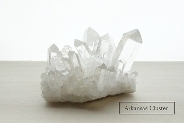 水晶クラスター アーカンソー産