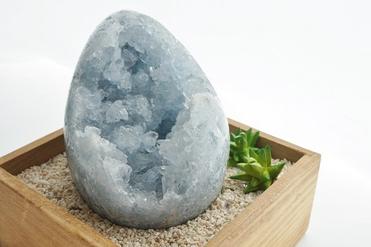 セレスタイト卵型(大)